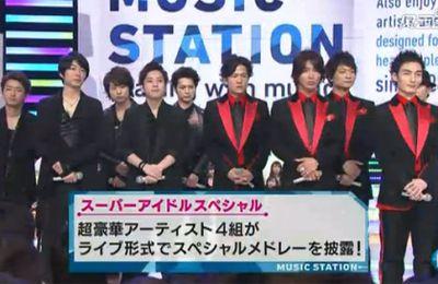 SMAP & Arashi @ Music Station!!