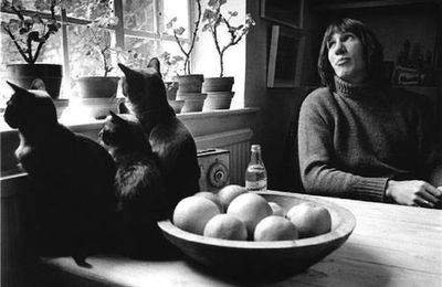 Roger Waters (ex Pink Floyd) et ses chats: Roger Waters and his cats (photos)