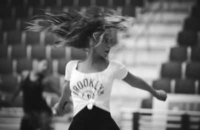 Beyonce : Super Training (Super Bowl Photos)