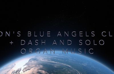 Jon's Blue Angels Clip + Driving Home From Solo Organ Music Gig