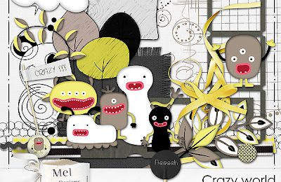 Crazy world de MelDesigns