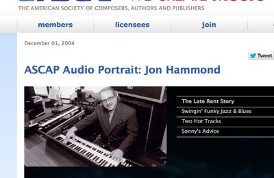 ASCAP We Create Music From Hollywood by Jon Hammond