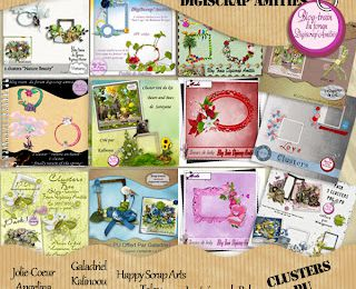 BLOG TRAIN CLUSTERS DIGISCRAP'AMITIÉ