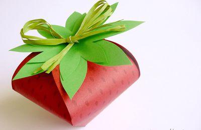 boîte fraise (tutoriel gratuit - DIY)