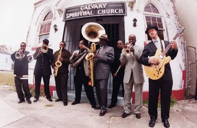 "Dirty Dozen Brass Band - ""Medicated Magic"" 2002 Sheridan Square Records"