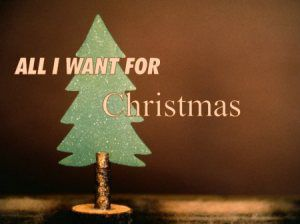 Tag - All I Want for Christmas