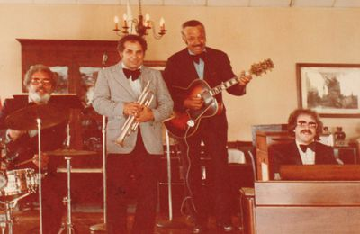 Hammondcast: Spotlight on Lou Colombo the late great Trumpet Player recorded on bandstand by organist Jon Hammond 1978