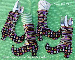 Des bottines pour Halloween...ou pour Noël...