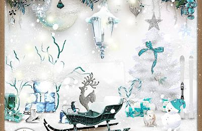 "Kit ""Winter freeze"" de Paprika et Doudou designs"