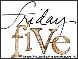 Friday five - 16 novembre 2012