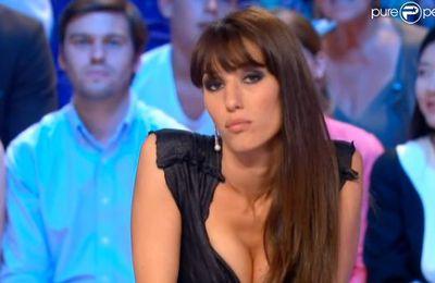 Canal + : Doria Tillier : La Miss météo du Grand Journal, divin sosie de Monica Bellucci....