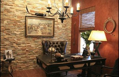 Traditional Home Business Furnishings Approach