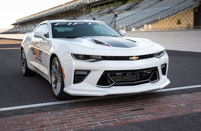 Chevrolet Camaro SS 50th Anniversary Edition 2016