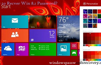 Windows 8.1 User Password Recovery