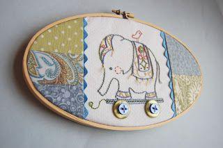 L'éléphant - Broderie Traditionnelle