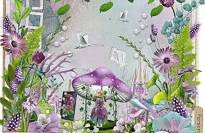 Kit Purple dream by Fille des iles