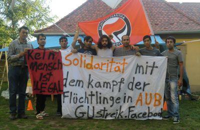 Aufruf zur Teilnahme am Flüchtlings-Protestmarsch nach Berlin