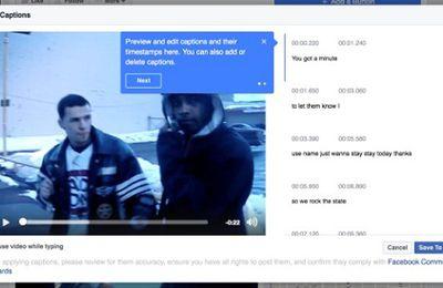Facebook amplia legendas automáticas para vídeos de páginas