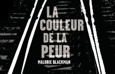 La couleur de la peur de Malorie BLACKMAN