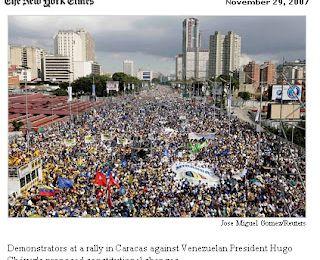 Chavez, le long dépérissement de tout un pays