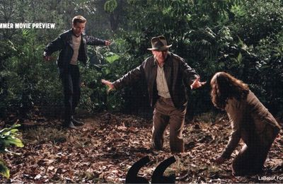 Nouvelles photos d'Indiana Jones/New Indy pics!