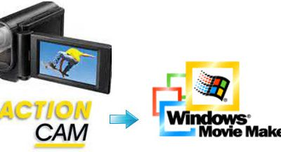 View and Edit Sony Action Cam footage in Windows Movie Maker