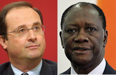 COMMUNIQUE – ENTRETIEN ENTRE LE PRESIDENT DE LA REPUBLIQUE FRANÇAISE ET ALASSANE OUATTARA