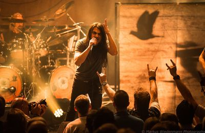 Live report FATES WARNING / PSYCHO VILLAGE, Gebr. de Nobel, Leiden, 03.08.2017