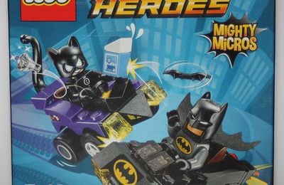 76061 - Mighty micros : Batman contre Catwoman / Mighty Micros: Batman vs. Catwoman