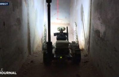 Israël: des robots pour inspecter les tunnels terroristes du Hamas