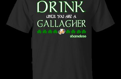 Top St. Patrick's day shirts for Shameless and the Gallagher fans.