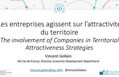 The Involvement of Companies in territorial Attractiveness Strategies