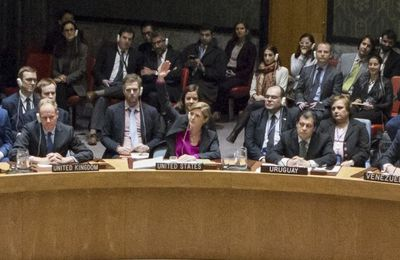 Choosing not to veto, Obama lets anti-settlement resolution pass at UN Security Council