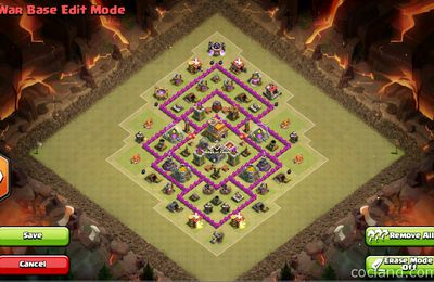 Best Town Hall 7 Base for Clan Wars