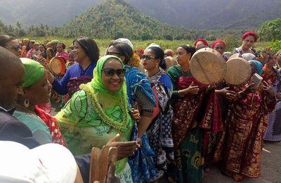 Anjouan: Madame Azali fait le show!
