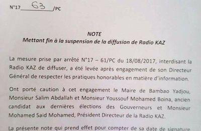 Radio Kaz peut émettre de nouveau!