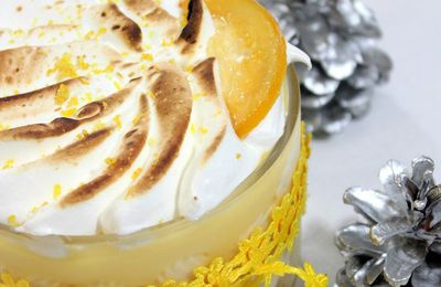Tiramsu au lemon curd citron meringue