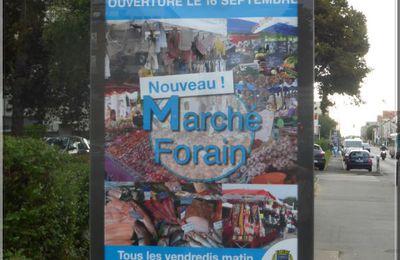 Marché forain de la Place Mendès-France