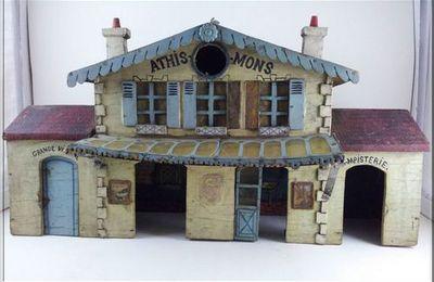 La gare d'Athis Barbie