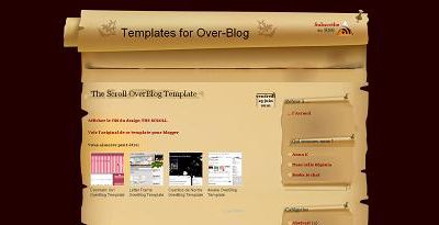 The Scroll OverBlog Template