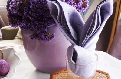 Pliage de serviettes facile en lapin de Pâques  (tutoriel gratuit - DIY)