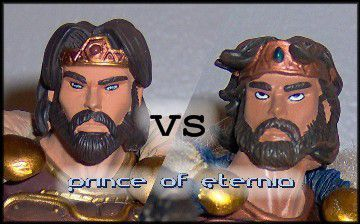 Comparaison : King Randor (SDCC) Vs King Randor (AFX)