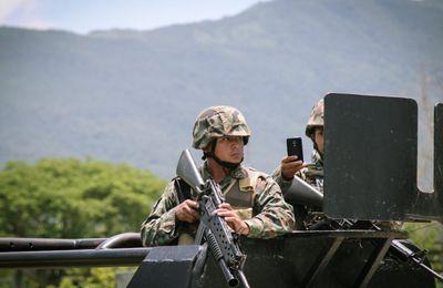 Militarisation dans la province d'Oaxaca