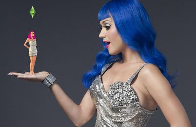Katy Perry becomes the face of The Sims games