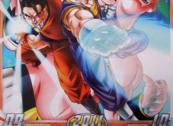 Calendrier Dragon Ball Kai 2011 ! Septembre - Octobre