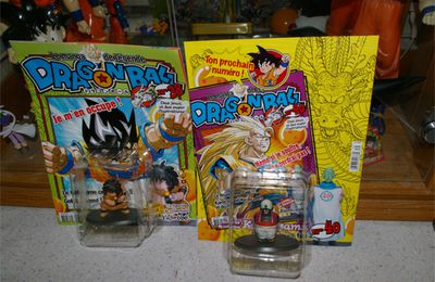 {New} Figurines Dragon Ball Hachette Collection n° 38 & 39