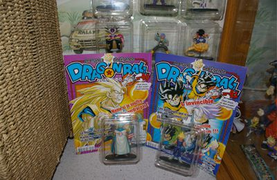 {New} Figurines Dragon Ball Hachette Collection n° 40 & 41