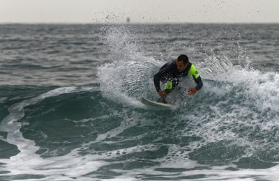 Surf Espagne. Photo de Laurent