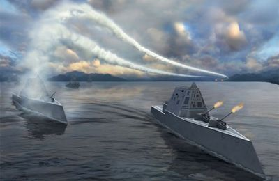 Radical looking new design - Presenting Zumwalt Class Destroyer SITREP