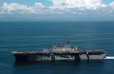 USS Bonhomme Richard Tests Emergency Responce Capabilities
